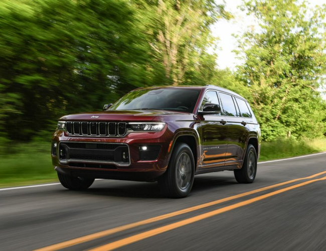 2021 Jeep Grand Cherokee L Remains True to Form