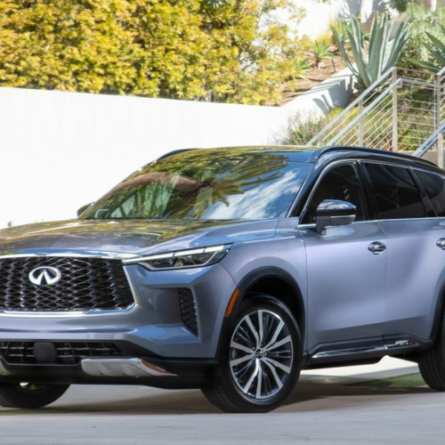 2022 Infiniti QX60 Is Redesigned with Family Luxury in Mind