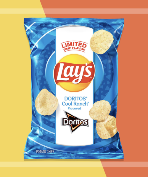 Lay's Messes with Our Minds, Releases Cool Ranch Doritos Potato Chips