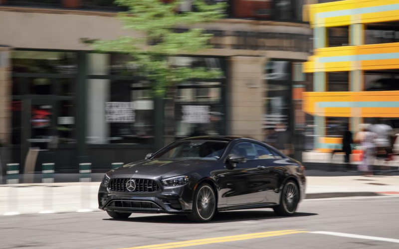 2021 Mercedes-AMG E53 Coupe Exudes Elegant Menace