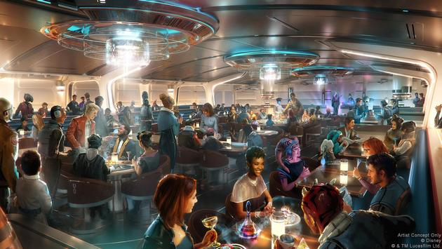 New Details Revealed for Disney's Star Wars: Galactic Starcruiser Hotel
