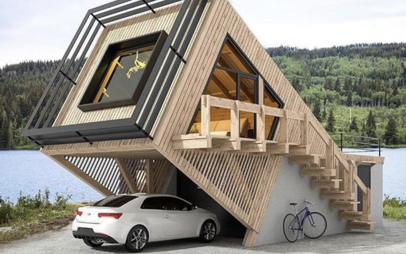 CNT Photo of the Day July 20, 2021 Tilted House