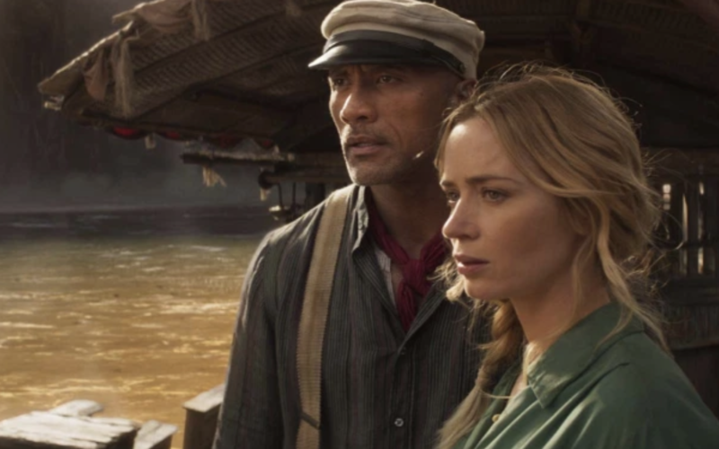 Dwayne Johnson and Emily Blunt in 'Jungle Cruise': Film Review