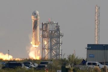 Jeff Bezos and Blue Origin crew complete successful spaceflight
