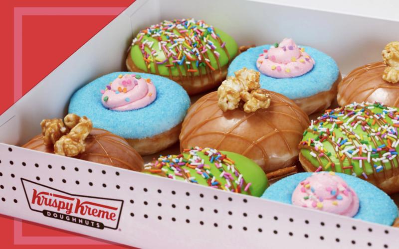Krispy Kreme Turned Classic Carnival Snacks into Doughnuts