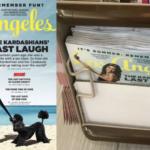 Los Angeles: Cheeky Kim Kardashian Magazine Cover Censored by Supermarket