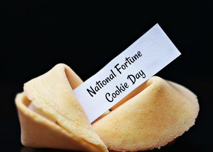 NATIONAL FORTUNE COOKIE DAY – July 20