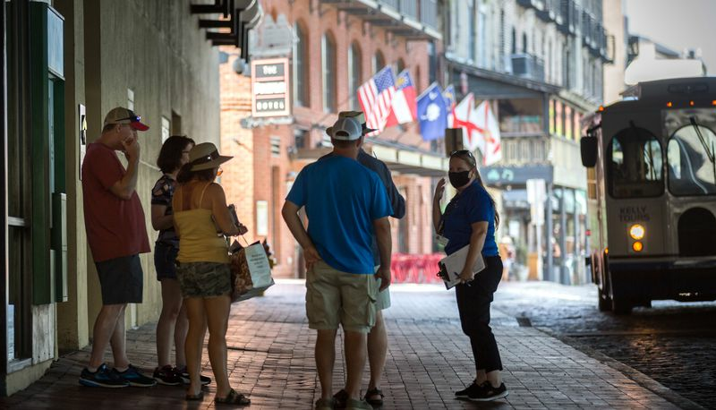 Savannah: Savannah becomes first major Georgia city to reimpose mask mandate