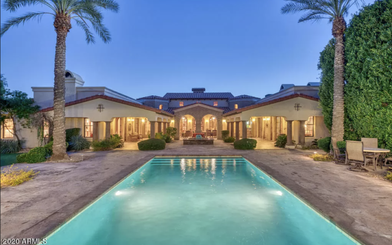 Scottsdale: $6.3 Million Arizona Mansion for Sale Has Garage Space for 100 Cars