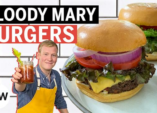 These Burgers Taste Like Bloody Marys