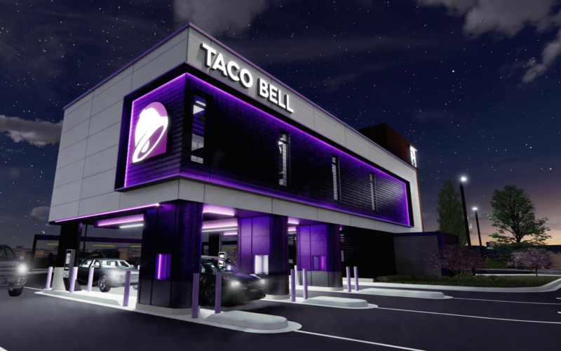 Taco Bell's New Drive-Thru Concept Puts the Kitchen Above Your Car