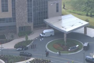 Atlanta: Brinks security guard shot during armed robbery near hospital