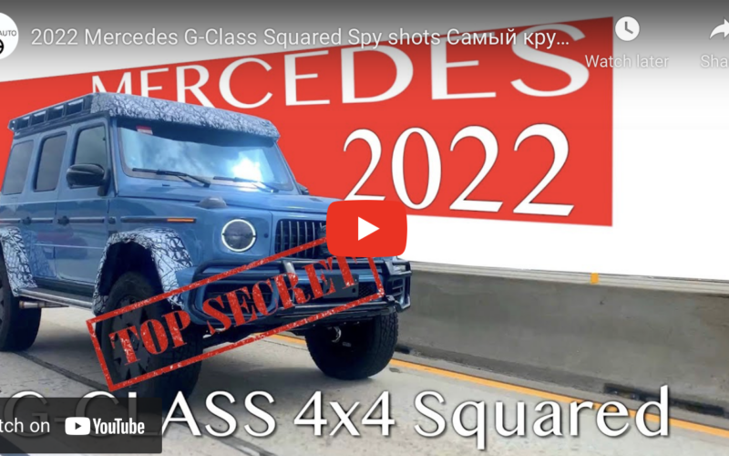 Check Out This New Mercedes G-Wagen 4×4 Squared Rolling around Los Angeles
