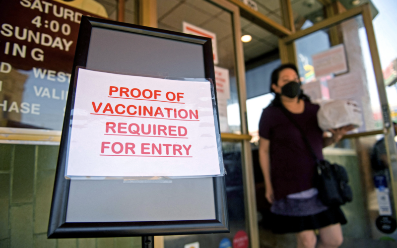 Los Angeles: Moves Forward on Vaccine Requirements for Indoor Dining