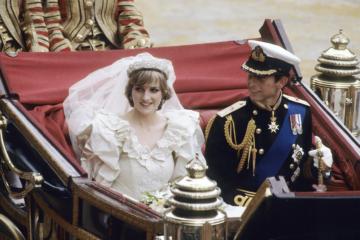 A Slice of Princess Diana's Wedding Cake Will Go to The Highest Bidder