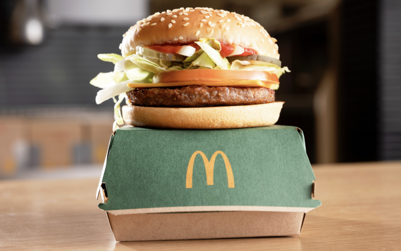 McDonald's McPlant Burger Makes Its Debut Overseas