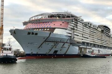 World's Largest Cruise Ship – Wonder of the Seas – Sets Debut Date