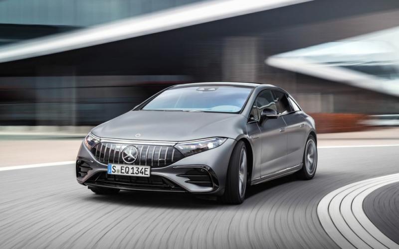 751-HP 2023 Mercedes-AMG EQS Has Tesla Model S in Its Sights