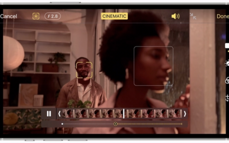 """Apple's New iPhone Features """"Cinematic Mode"""" for Filming Movies"""