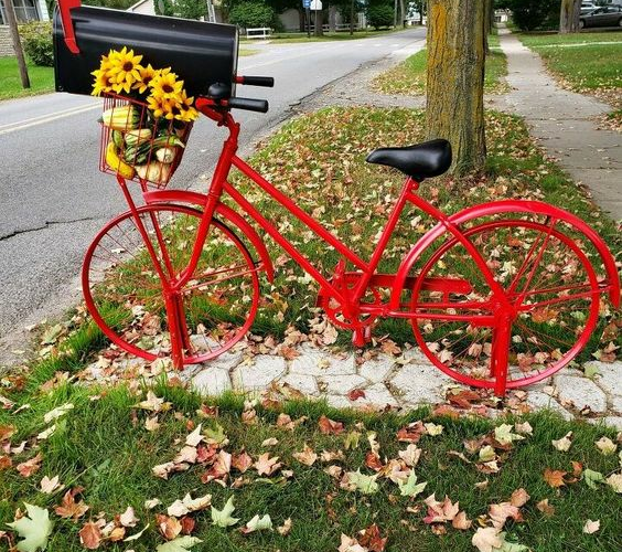 CNT Photo of the Day September 1, 2021 Bicycle Mailbox