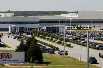 Kia again halted Georgia vehicle production, blaming chip shortage