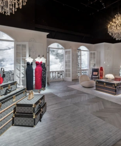 Louis Vuitton Opens Massive Pop-Up in Hollywood
