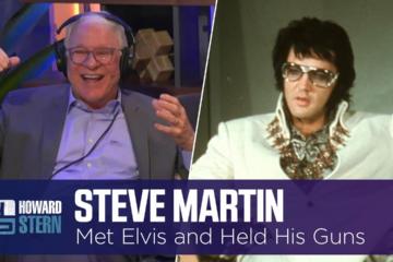 Steve Martin's Introduction to Elvis Presley Involved Three Guns