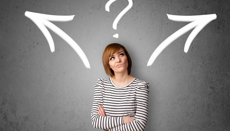 TIP: Why making a decision is harder than making a choice
