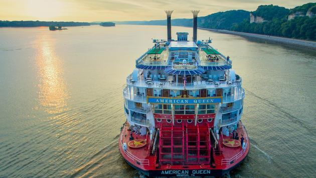 American Queen Steamboat Co. Is Now American Queen Voyages