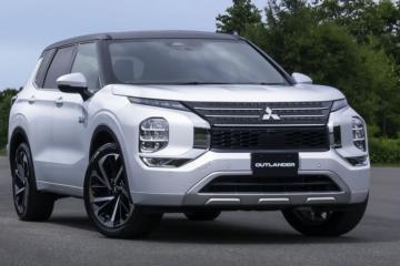 2023 Mitsubishi Outlander Plug-In Hybrid Revealed, Confirmed for U.S.