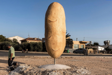 A Village in Cyprus Is Now Home to This 16-Foot-Tall Potato Statue