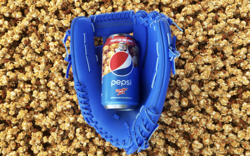 Pepsi Created a Cracker Jack Soda Just in Time for the Baseball Playoffs