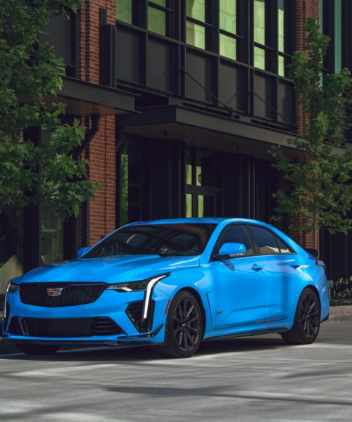 Tested: 2022 Cadillac CT4-V Blackwing Channels Greatness